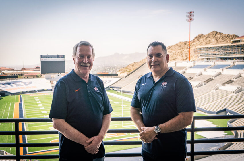 Former Miner Great Mike Perez joins UTEP Football Radio Broadcast Team
