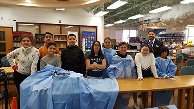 Ramona Elementary Students Get Hands-On Experience on Robotic Surgery