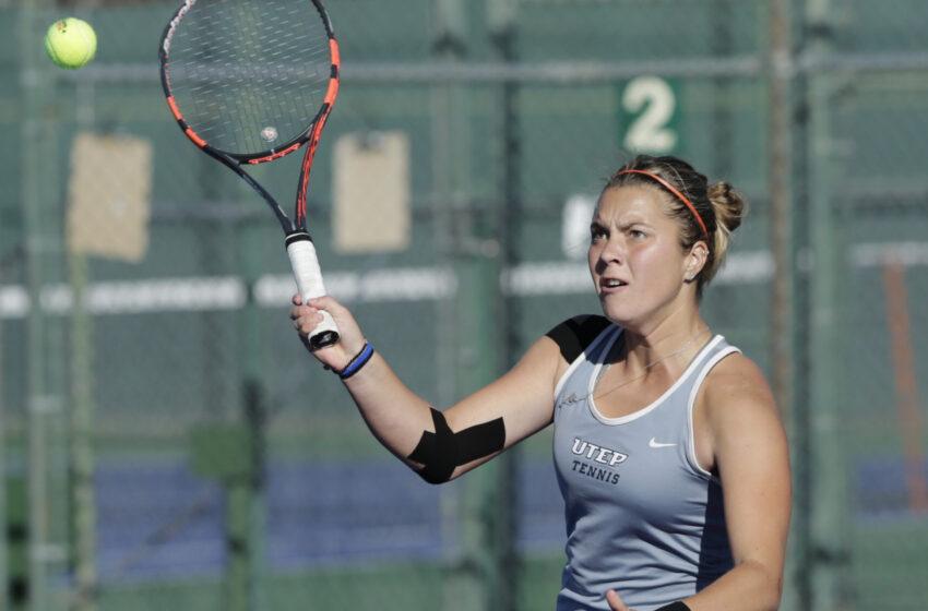 UTEP Tennis Hosts Northern Arizona, Wyoming this Weekend