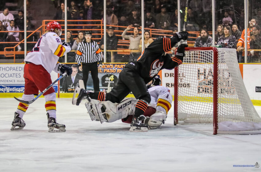 Story in Many Pics: Rhinos Down Eagles 5-1