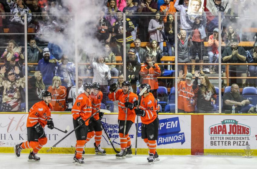 NHL's Preseason Comes to El Paso: Rhinos host Dallas Stars vs Arizona Coyotes