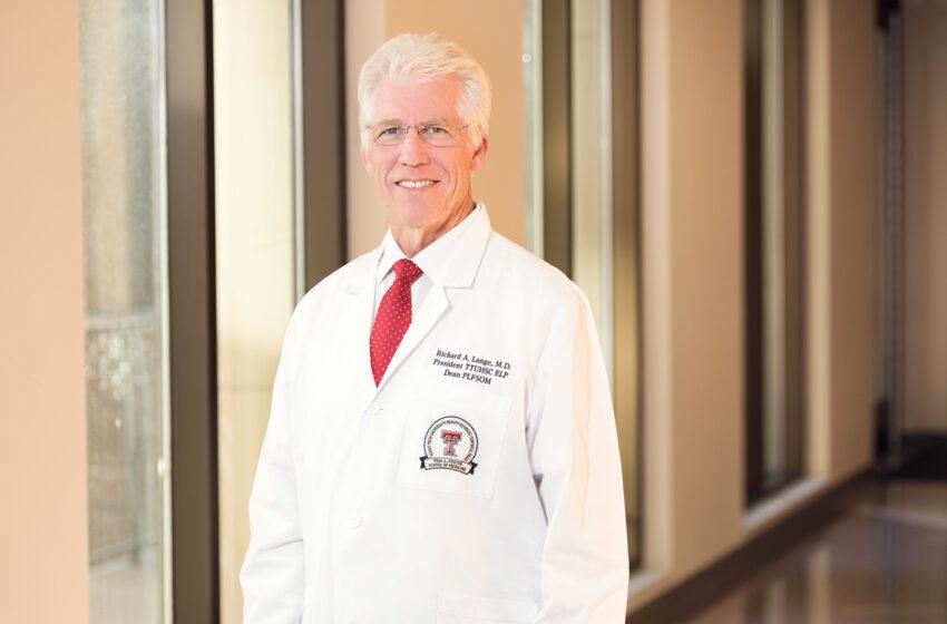 TTUHSC El Paso President Elected to Chair FDA Advisory Board