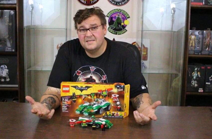 TNTM: Lego The Riddler Riddle Racer Build