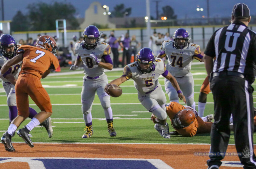 Story in Many Pics: Mustangs Stampede Rangers 41-6