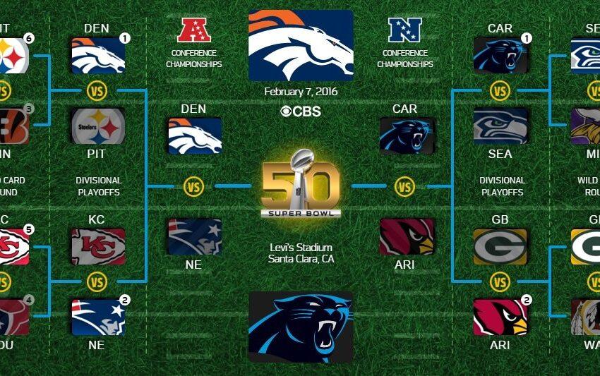 Super Bowl 50 set: Denver Broncos take on Carolina Panthers