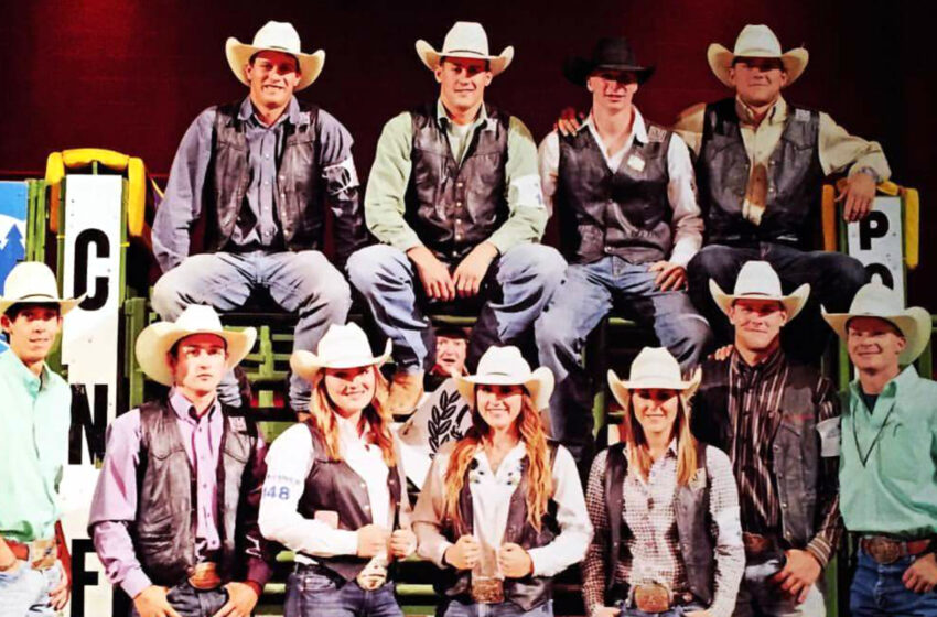 NMSU's Rodeo Team places at National Finals