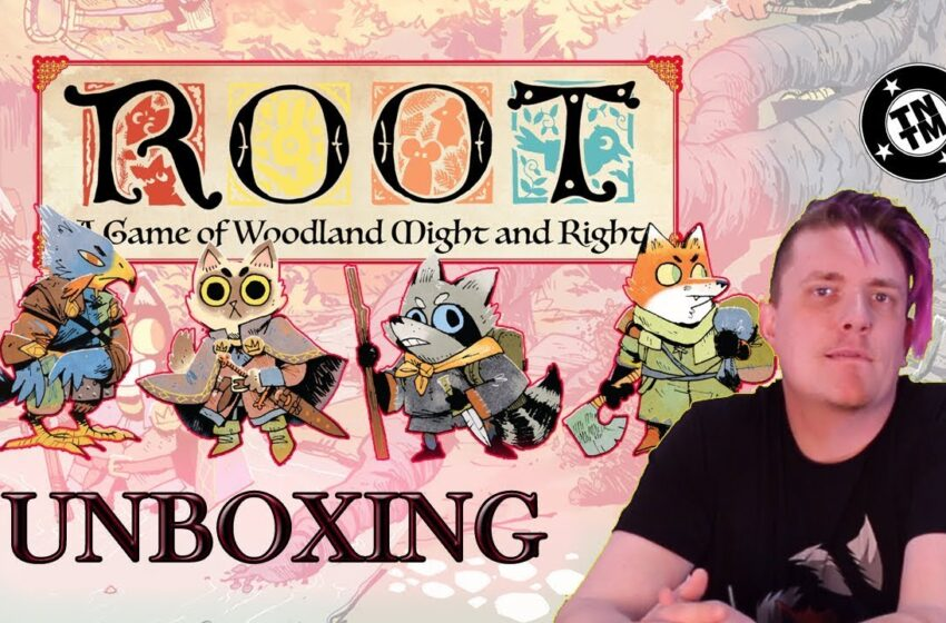 Video+Info: Root and The Riverfolk Expansion by Leder Games Unboxing