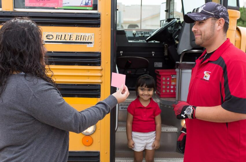 SISD launches new bus safety measure for Pre-K, kinder students