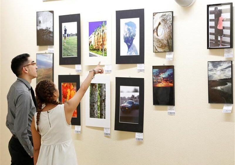 Socorro ISD Opens Cell Phone Photography Exhibit