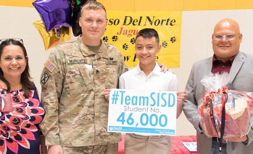 Socorro ISD hits New Peak as it Welcomes 46,000th Student