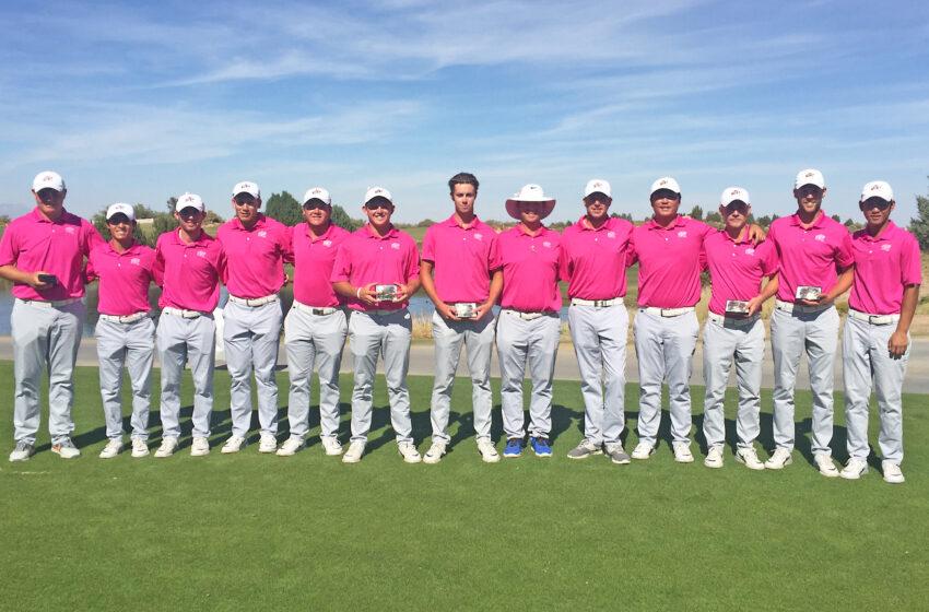 UTEP Men's Golf Wins Price's Tourney