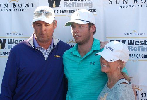 LSU's Sam Burns Wins 2016 Sun Bowl Western Refining College All-America Golf Classic