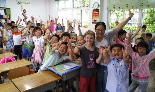 """NMSU Professor's China School Exchange in """"Global Connections"""" Lecture"""