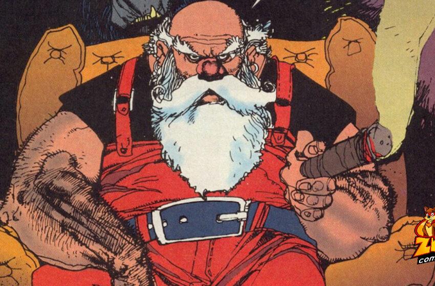 TNTM: Santa Claus in the comics