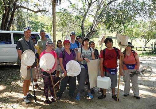 NMSU Students Travel to Belize to Study Arthropods