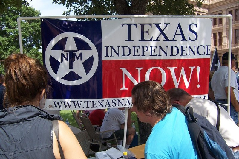 Nationalist Group Wants TX Secession on Primary Ballot