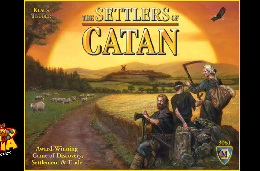 TNTM: How to play Settlers of Catan
