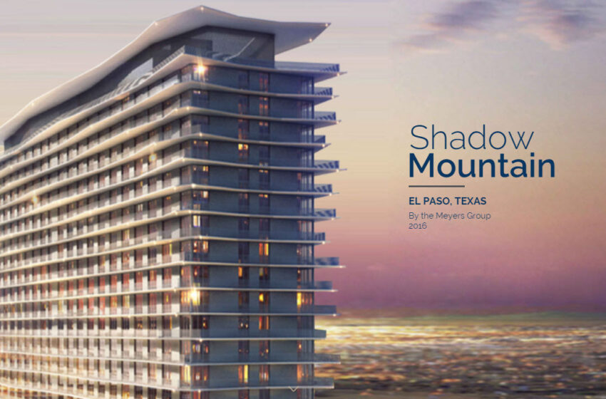 City Approves Shadow Mountain Tower for West El Paso