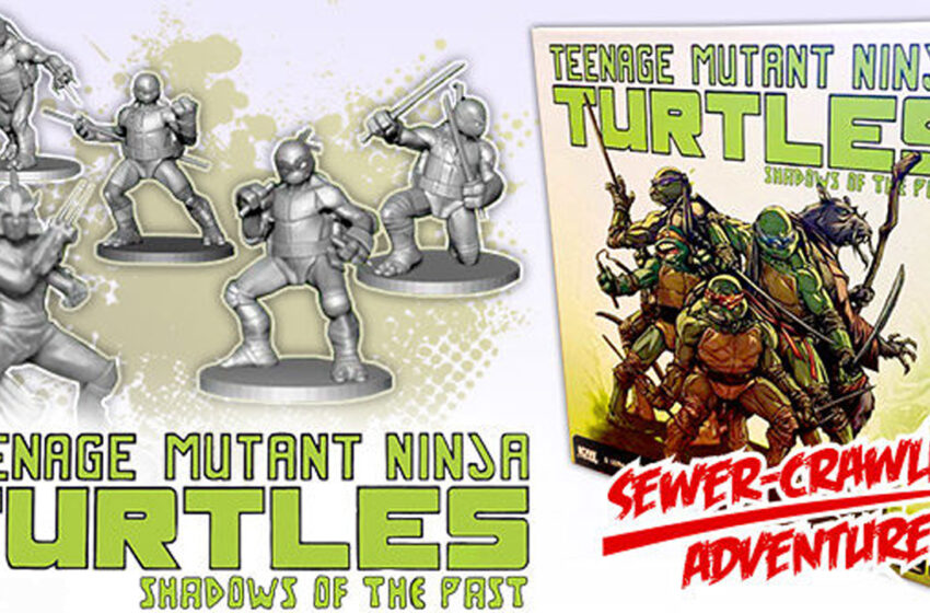 TNTM: Ninja Turtles: Shadows of the Past unboxing