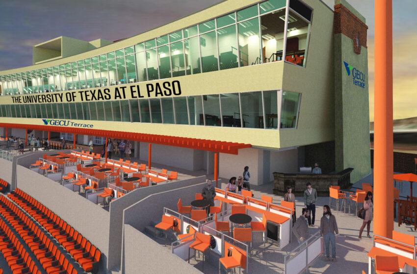 UTEP, GECU Partner on New Vision For Sun Bowl Stadium