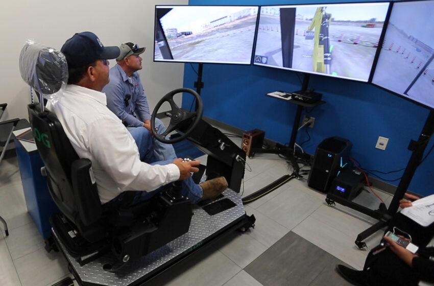 Video+Story: New Simulator Trains EP Water Heavy Equipment Operators
