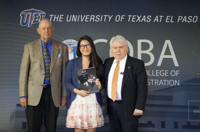 Silva Magnet Student Wins UTEP's Skov Ethics Contest