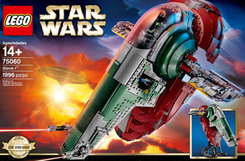 TNTM: Unbox and speed build of Lego Slave 1