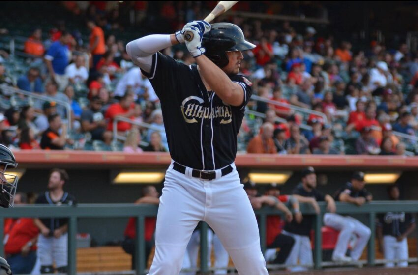Chihuahuas Outfielder Hunter Renfroe Named PCL Player of the Week