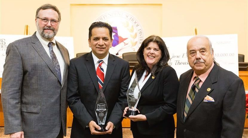 Presentation Honors SISD Superintendent for National Best in Education Award
