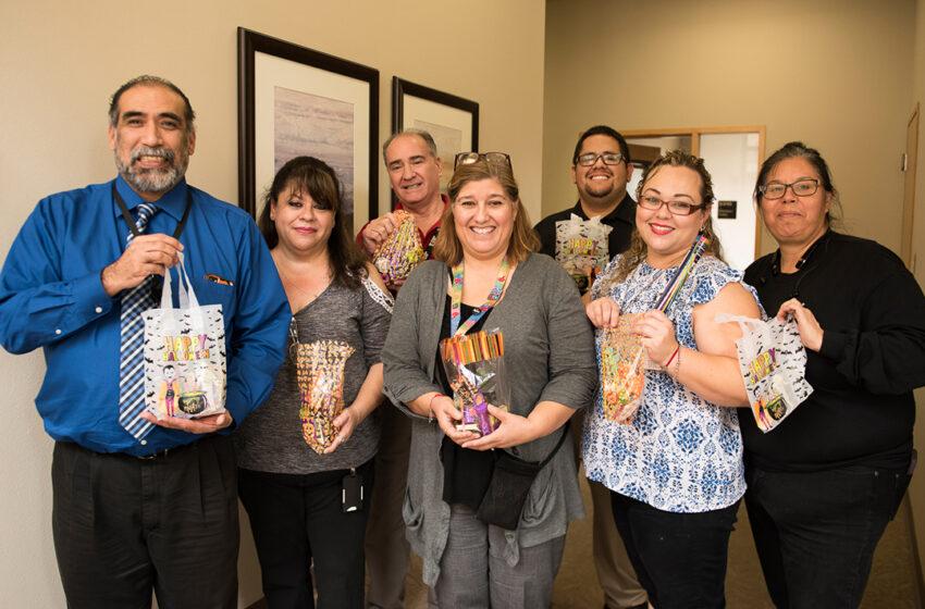 TTUHSC El Paso Staff Senate Promotes a Candy-Free Halloween