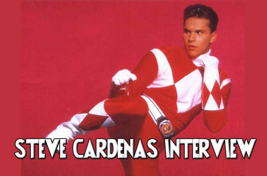 Audio: Red Power Ranger Steve Cardenas (Rocky DeSantos) interview