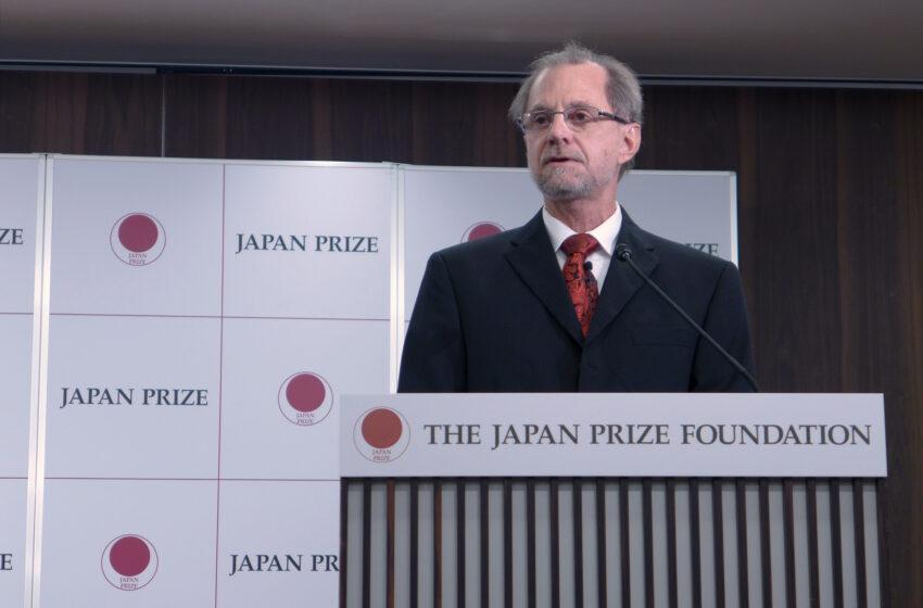 Former NMSU professor named a 2016 Japan Prize recipient