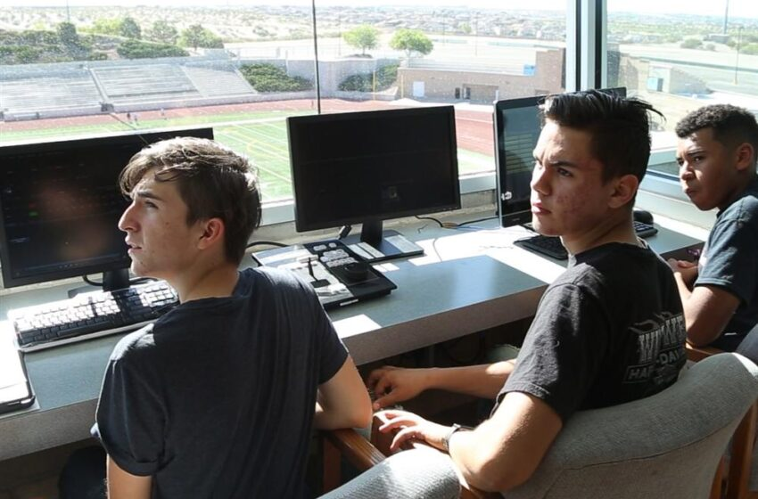 Students Gain Real-World Experience Operating new SAC Video Board