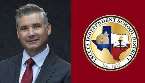 Ysleta ISD Superintendent De La Torre Appointed to TEA Committee