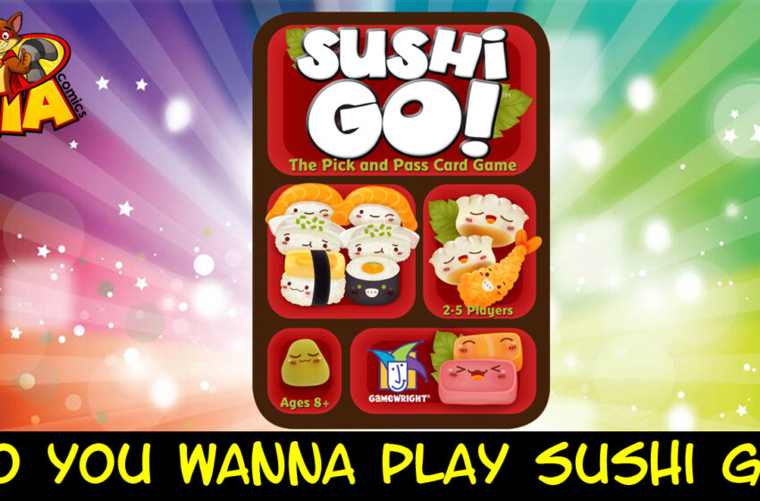 TNTM Board Game Review: Sushi Go!