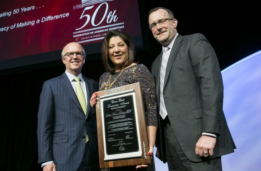 Hospitals of Providence Market CEO Hurt-Deitch honored with Leadership Award