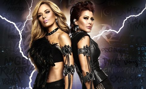 Gloria Trevi, Alejandra Guzmán together at County Coliseum
