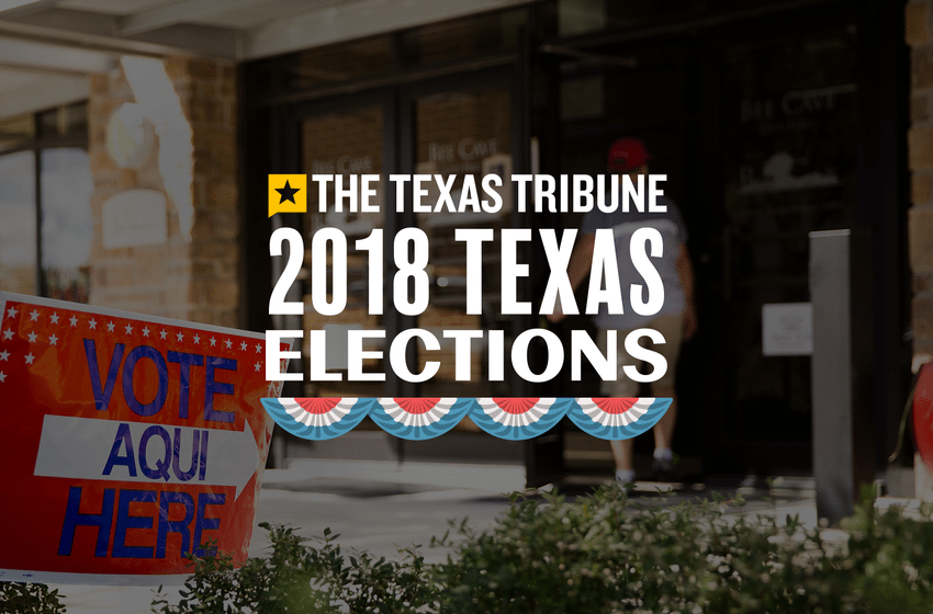 Who's on the General Election Ballot in Texas on November 6?