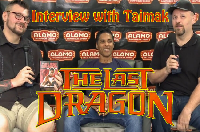 Video+Story: Interview with The Last Dragon star Taimak