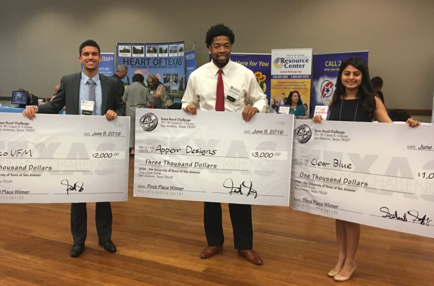 UTEP Students Win 2nd Place in Texas Rural Challenge Business Plan Competition