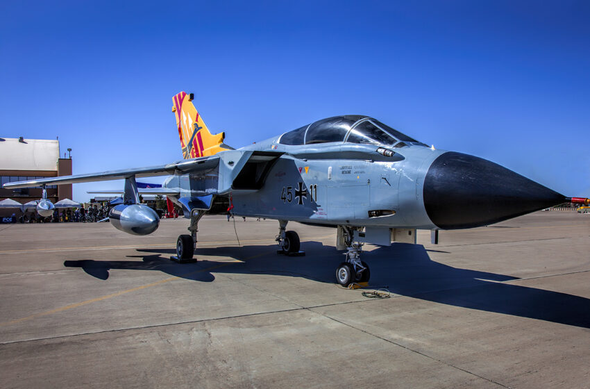 NM Museum of Space Announces Acquisition of German Tornado Aircraft