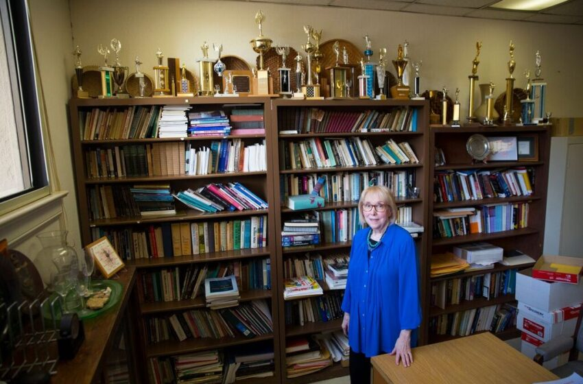 Retiring UTEP Professor 'Seduced' by Speech, Debate