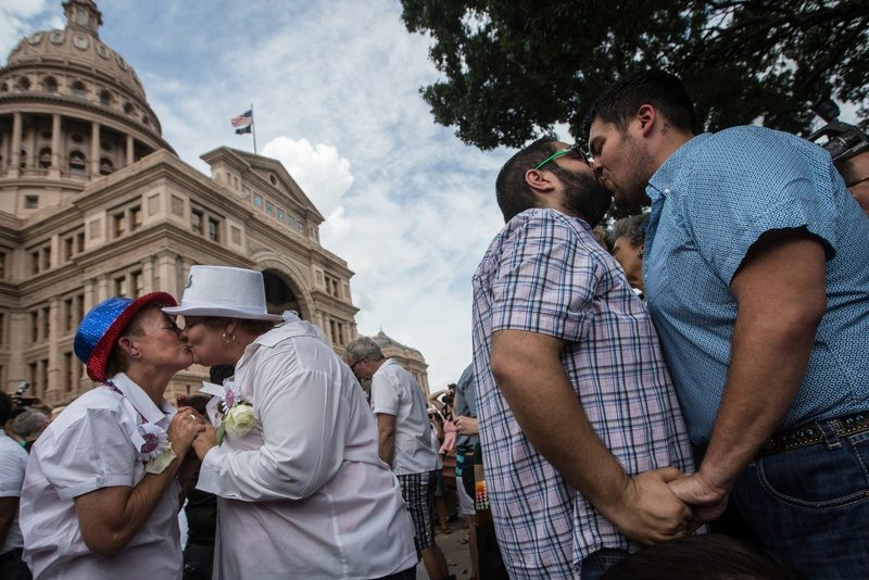 A Year Later, Gay Marriage Debate Shifts in Texas