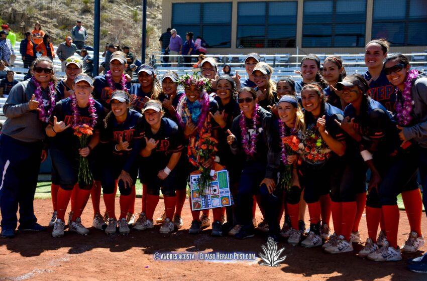 Story in Many Pics: Miners Sweep the Mean Green on Senior Day