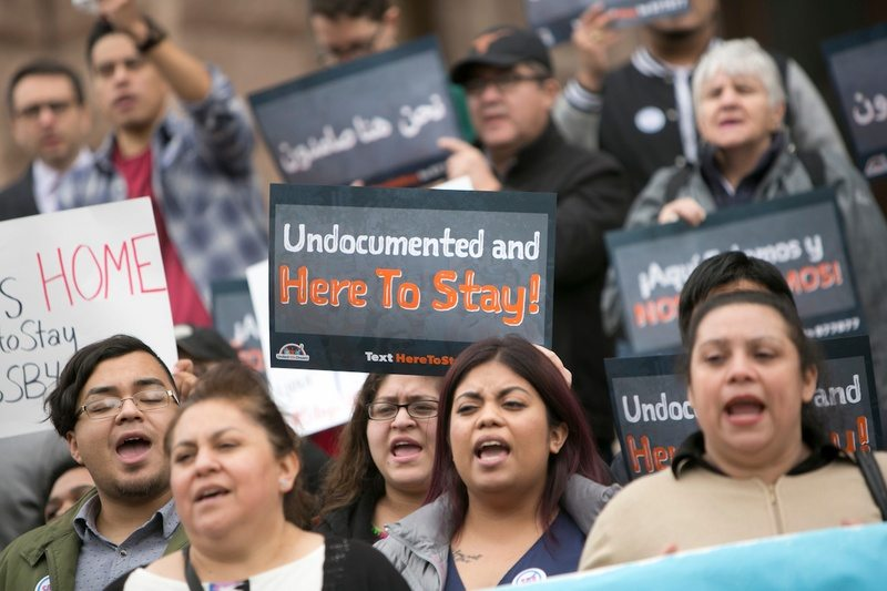 Protesters Flood Texas Capitol as Committee Debates Sanctuary Cities Bill