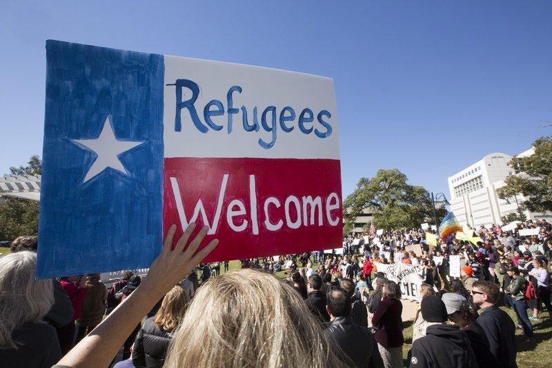 Ignoring Anti-Refugee Rhetoric, Texans Rush to Help in Resettlement