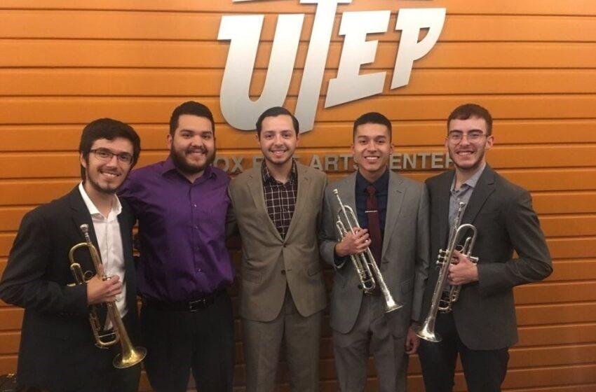 Video+Story: UTEP Trumpet Quintet Wins UT Regents' Student Award
