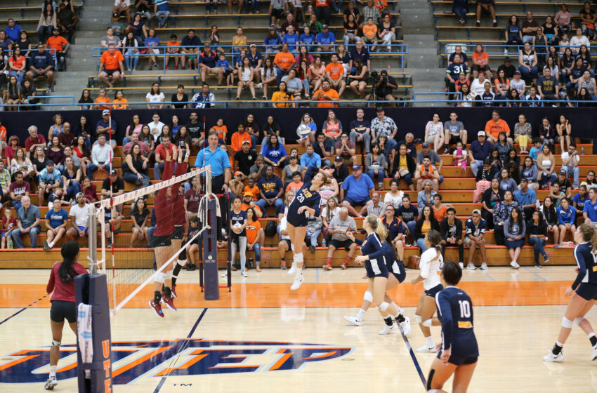 UTEP Volleyball Falls To NM State 3-0 Sunday Afternoon