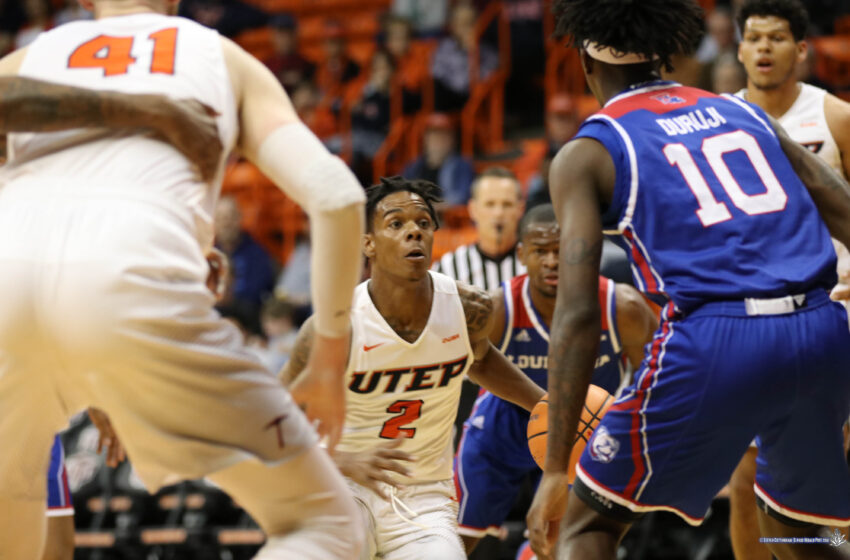 Tip-In by Willms Lifts UTEP Over LA Tech 74-72