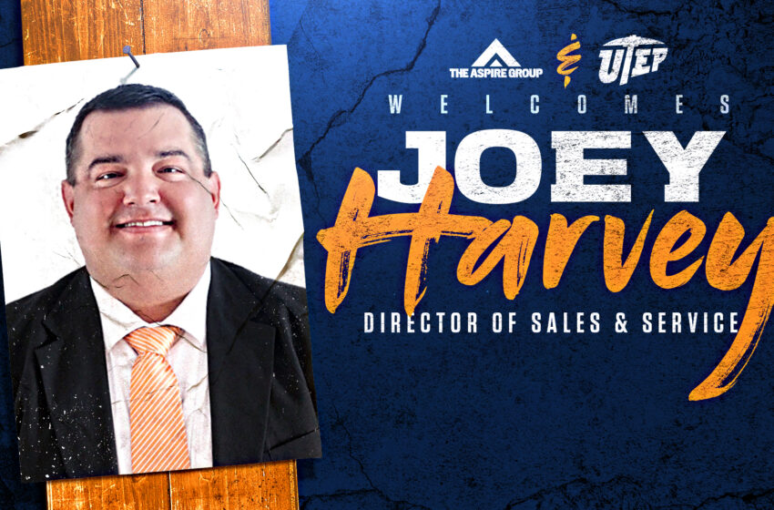 Joey Harvey named Director of Sales and Service for UTEP Athletics Ticketing